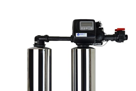 WECO 2MC-1054 High Efficiency Twin Alternating Water Softener for Water Hardness Reduction