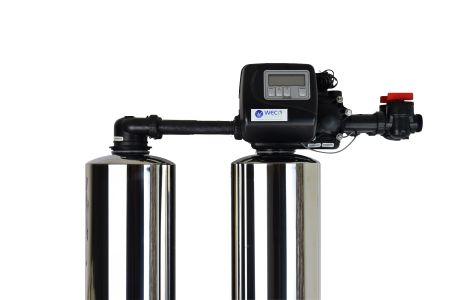 WECO 2MC-1252 High Efficiency Twin Alternating Water Softener for Water Hardness Reduction