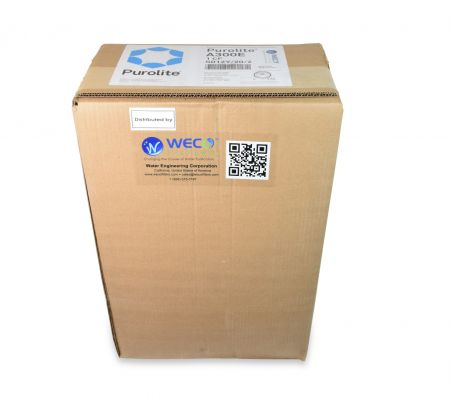 Purolite® A300E Type II Strong Base Anion Resin Chloride form, Potable Water Grade - 1 cu.ft