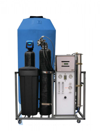 WECO AP1600 Turn-Key Reverse Osmosis Whole House/Light Commercial Water Purification System - 1,600 Gallons Per Day