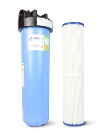 WECO BB-20SED Big Blue Water Filter System for Sediment Capture