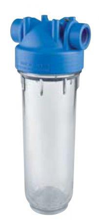 Atlas Filtri Blue - Clear Sump Housing w/ Pressure Relief 2.5