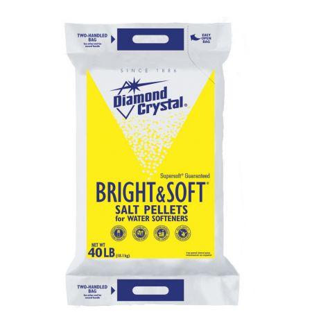 BRIGHT & SOFT® Water Softener Salt Pellets - 40 Lb.