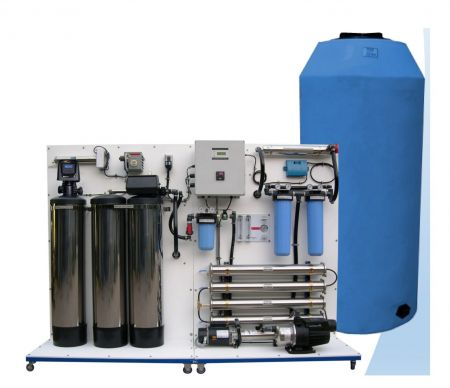 WECO XT5400 Deluxe Turn-Key Reverse Osmosis Whole House/Light Commercial Water Purification System - 5,400 Gallons Per Day
