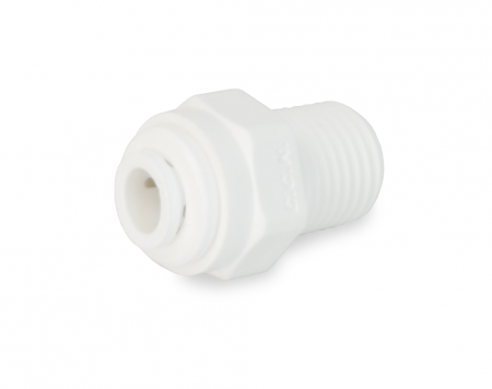 Male Connector - 1/4