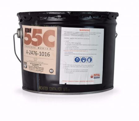 KDF-55 Pail - Media for Removing or Reducing Chlorine and Water-Soluble Heavy Metals -1/3 cu.ft ~ 57 Lbs.