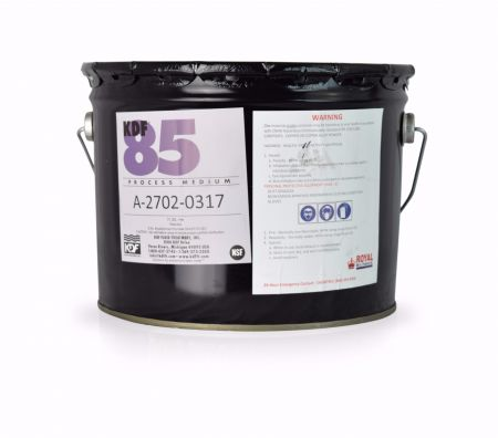 KDF-85 Pail - Media for Removing or Reducing Iron and Hydrogen Sulfide  -1/3 cu.ft ~ 57 Lbs.