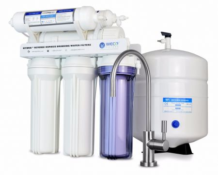 WECO HYDRA-75ALK Reverse Osmosis Drinking Water Filtration System with pH Neutralizer Cartridge