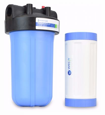 WECO BB-10GAC Big Blue Water Filter System for Taste and Odor Treatment