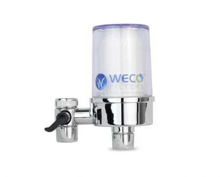 WECO TF-04 Clear Faucet Mount Water Filter System