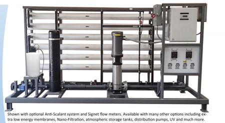 WECO QR-12000 Heavy Commercial Reverse Osmosis Water Purification System - 12,000 Gallons Per Day