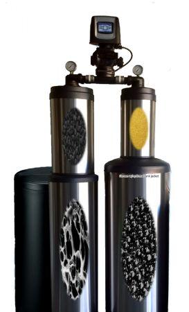 WECO 4X4CCKDFKLR City Water Whole House Hybrid Filter/Softener