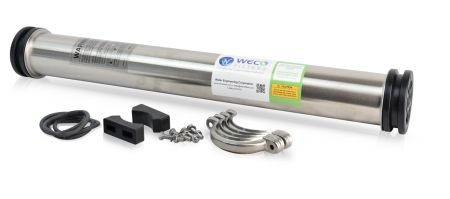 WECO SS2521 Reverse Osmosis Membrane Housing 304 Stainless Steel 3/8