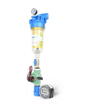 WECO SEDFLUSH-075 Self-Cleaning Whole House Filter System for Sediment Removal - ¾ Inch
