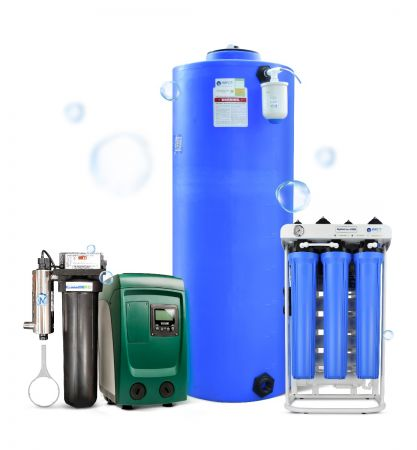 WECO ULTRA-300 Whole House Reverse Osmosis Filtration System   Up To 4 Baths