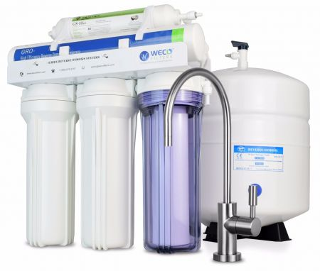 WECO VGRO-75 High Efficiency Reverse Osmosis Drinking Water Filtration System