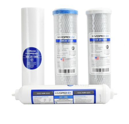 WECO VGRO-SET4 Filter Set for Reverse Osmosis Systems