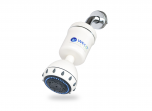 WECO Multi Stage Dechlorinating Shower Filter with Shower Head - White
