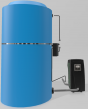 Ozone Recirculating Disinfection System for Atmospheric Water Storage Tanks