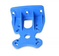 "Atlas 2.5"" Plastic Single Filter Bracket -Blue"