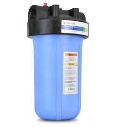 """Pentair Big Blue© Filter housing 1"""" NPT Ports w/ Pressure Relief for 4 ½ """" X 10"""" Filter Cartridges"""