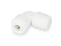 """Male Elbow - 1/4"""" TUBE X 1/4"""" MNPT Thread"""