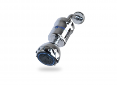 WECO Multi Stage Dechlorinating Shower Filter with Shower Head - Chrome