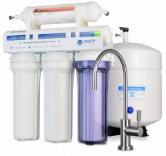 WECO VGRO-75GS-210DI High Efficiency Reverse Osmosis Drinking Water Filtration System with TDS Filter