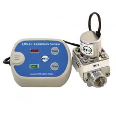 HM Digital LBS-10 Leak Detector with Auto Shutoff Valve and Audible Alarm