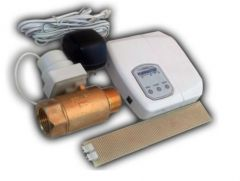 Water Leak Detector and Auto Shutoff Valve with Audible Alarm