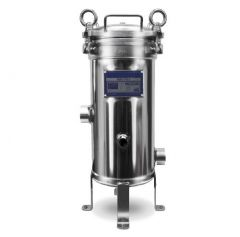 """WECO HDX-SS7102 Stainless Steel Multi-Cartridge Water Filter Housing for 10"""" Cartridges"""