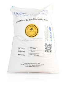 Water Softening Resin for Hardness Reduction - WQA / NSF-44 & 61 Certified - 52 lbs 1 cu.ft Bag