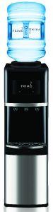 Top-Load Water Dispenser, Stainless Steel/Black