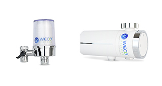 Faucet-mount water filters