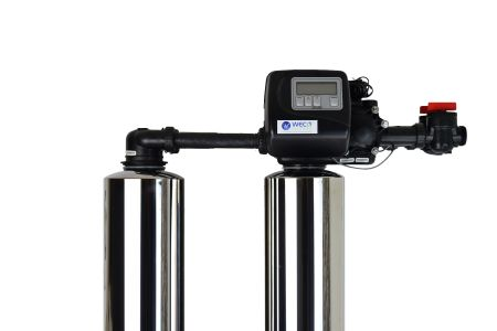 WECO 2MC-0948 High Efficiency Twin Alternating Water Softener for Water Hardness Reduction