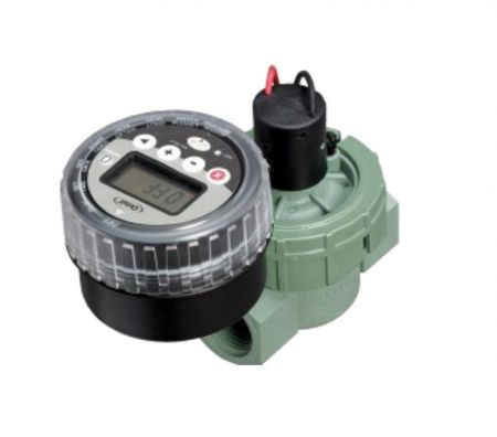 Battery Powered Auto Flush Valve for Water Filter Systems