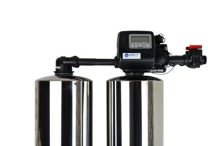 WECO 2MC-1465 High Efficiency Twin Alternating Water Softener for Water Hardness Reduction
