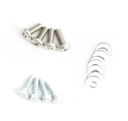 WECO Hardware Kit for Mounting Big Blue & Atlas Filtri Housings - Screws, Lag Bolts & Washer Kit