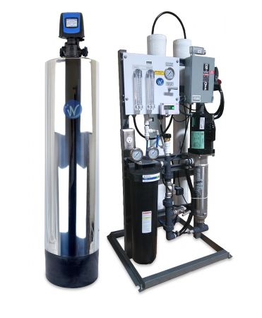 WECO T-BONE-5000 Commercial Reverse Osmosis Water Filtration System for High Rejection of Boron & Other Water Contaminants - Made in U.S.A.