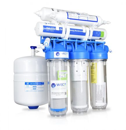 WECO CLARINA-75ALK High-end Undersink Reverse Osmosis pH Balanced Drinking Water Filtration System