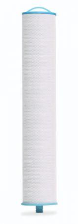 "Enpress Blue Filtration Series High Capacity Cartridge - 2"" High Flow Pleated 5 Micron - Carbon Block Core"