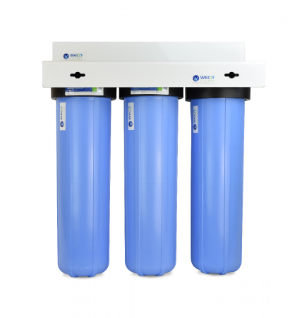 WECO BB-203SKDFC  Whole House Big Blue Water Filter