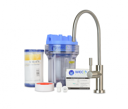 WECO Undersink Water Filter System for Sediment Reduction