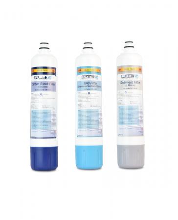 PureT EZ-SLIM-SET3 Pre Filter Set for E3RO550EZ Reverse Osmosis System