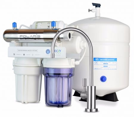 WECO TINY-150UV Compact Undersink Reverse Osmosis Water Filtration System