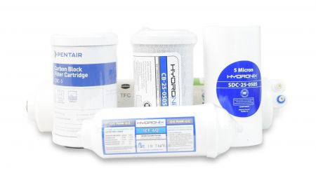 MINI-SET5-150 Complete Replacement Filter Set for WECO MINI-150 Reverse Osmosis Systems