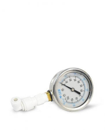 WECO Water Pressure Gauge with 3/8