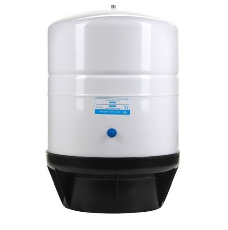 14 Gallon RO-1070-W14 Revers Osmosis Storage Water Tank, White, 1/4