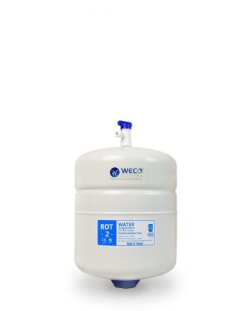 Aquasky Plus ROT-2 Reverse Osmosis Water Storage Tank - Total Capacity 2.0 Gal & appx. 1.2Gal Usable Capacity