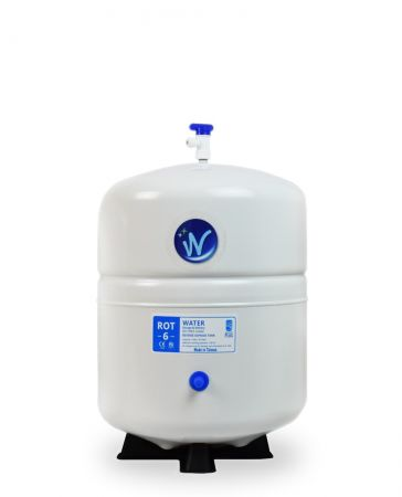 Aquasky Plus ROT-6 Reverse Osmosis Water Storage Tank - Total Capacity 6 Gal & appx. 3.6Gal Usable Capacity